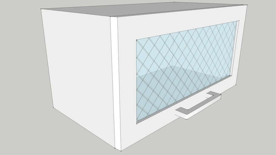 600 Wall Module with One Top-lift Glass Shutter 600X300X300 CID_CP10000141