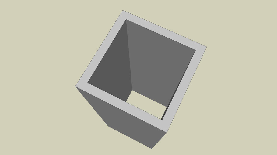STEEL SECTION - SQUARE HOLLOW SECTION SIZE 90 X 90 - PART 070 OF 180