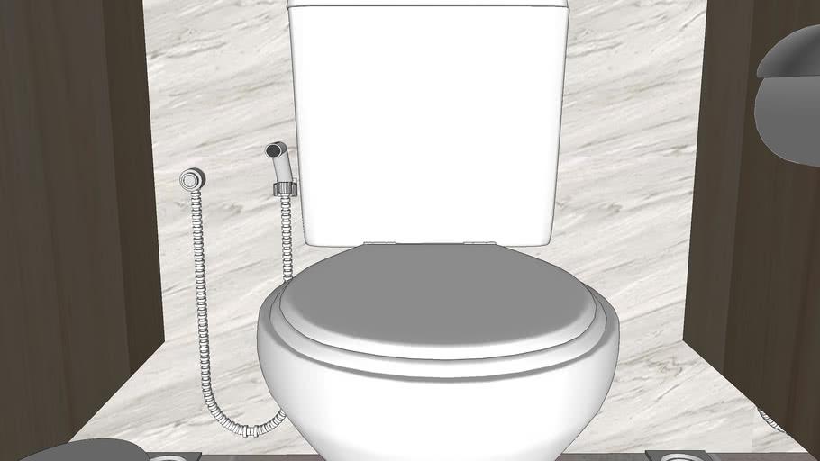 toilet pasar