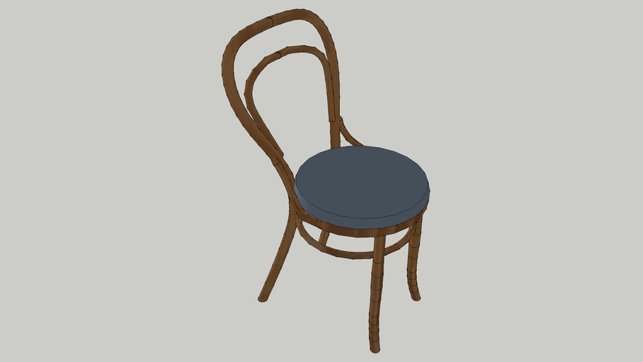 Bentwood (No. 14) Chair with Cushion