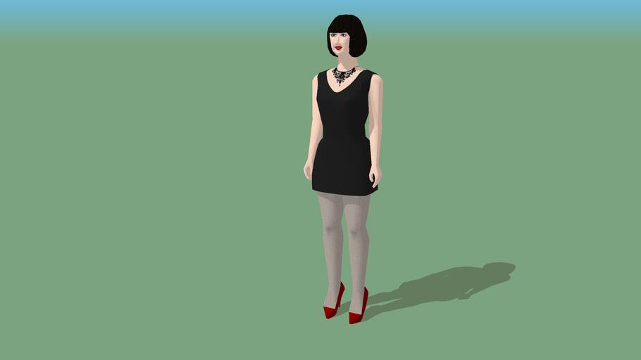 X-GIRL - 9 - Black Dress