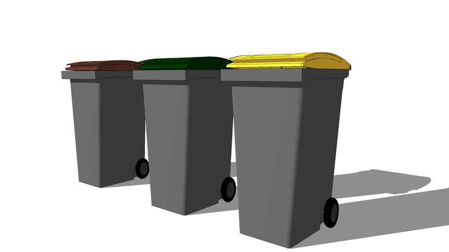Petites poubelles / Dustbin (DC)
