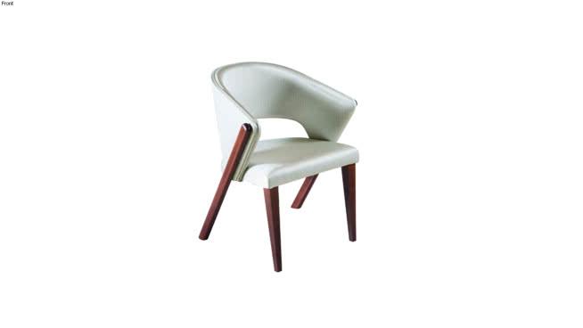 Cadeira Soul estofada