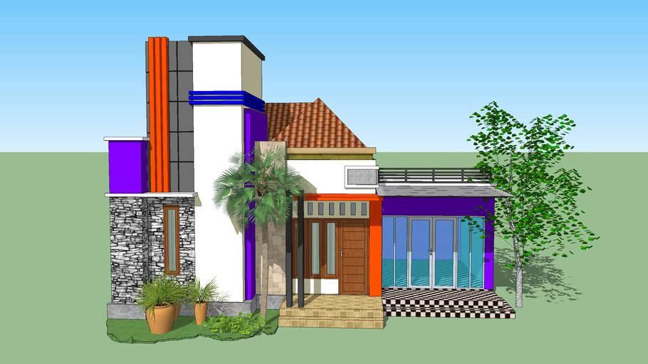 Rumah Dan Toko Minimalis Modern 3d Warehouse