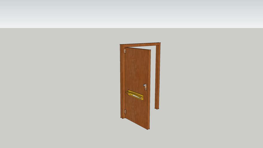 Puerta c/ buzon