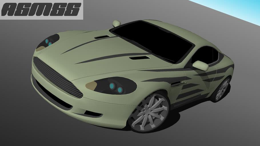 Modified Aston Martin DB9