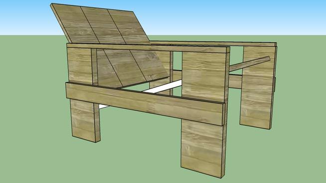 Stoel Gerrit Rietveld : Gerrit rietveld stoel hout d warehouse