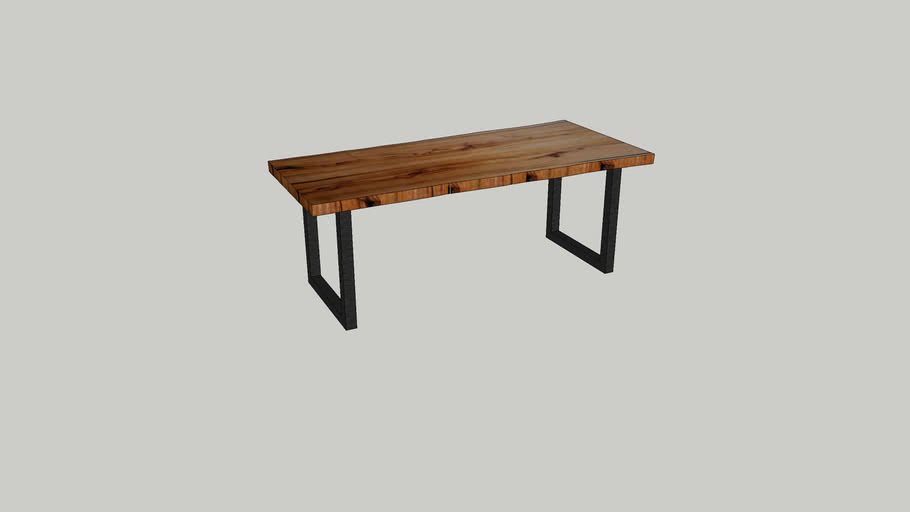 Sepetir Bookmatched dining table