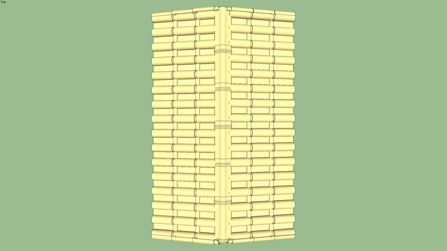 Telhado portão 3m