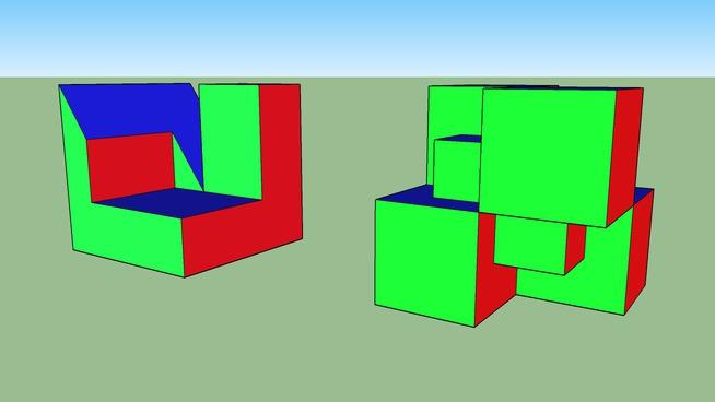 cubos isometricos