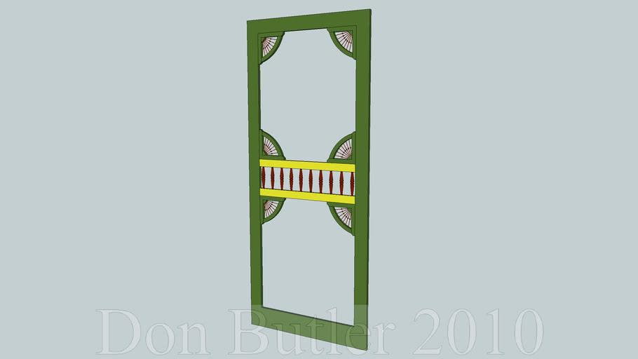 Screen door, Victorian style