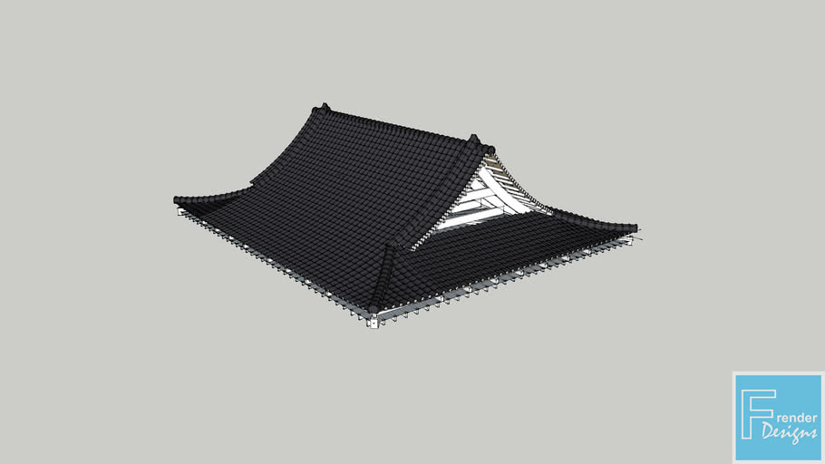 Japanese Roof 3d Warehouse