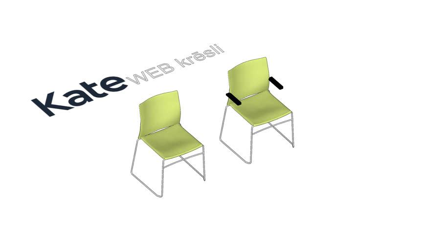KATE WEB apmeklētāju krēsli