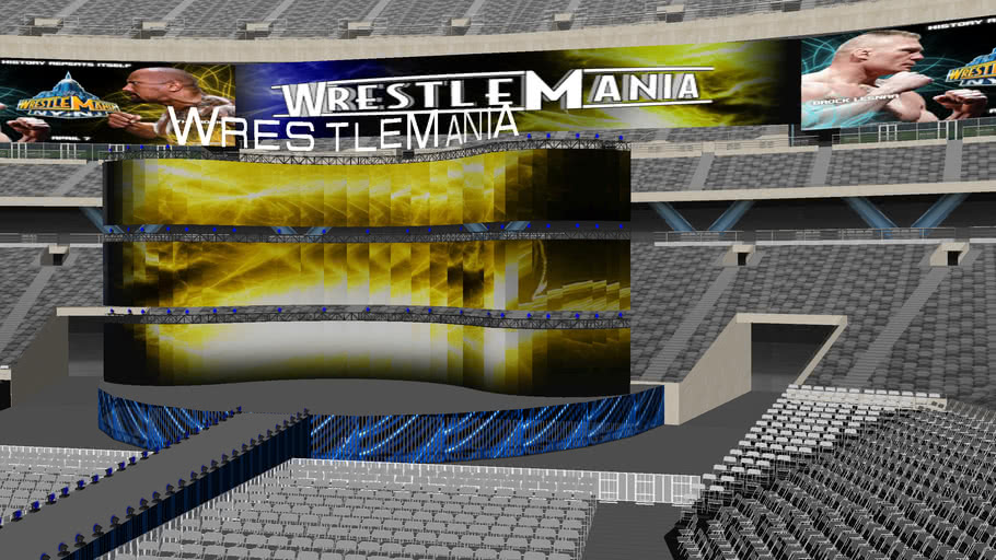 WWE Wrestlemania 29 Concept #3
