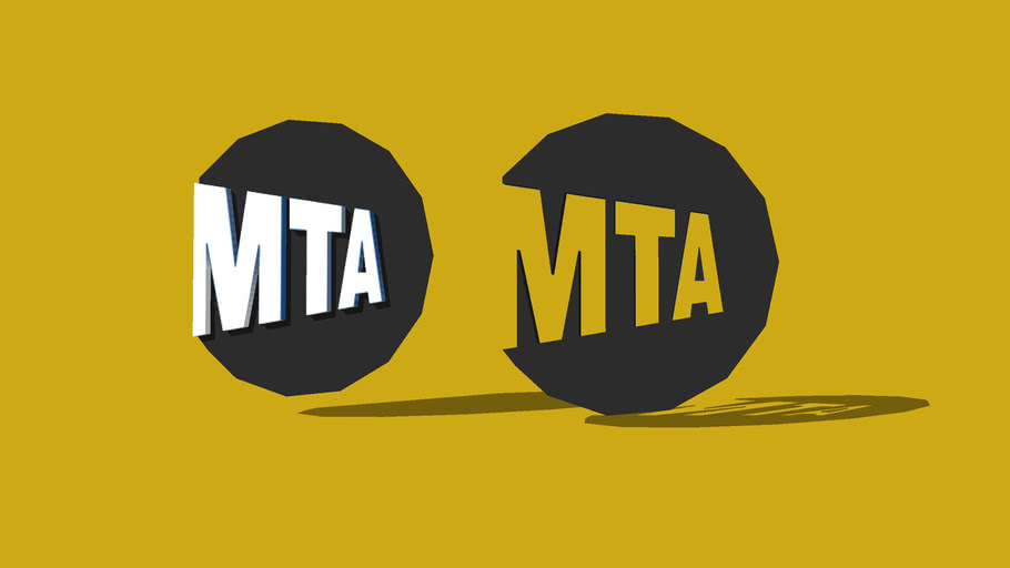 MTA logo (Metropolitan Transportation Authority )