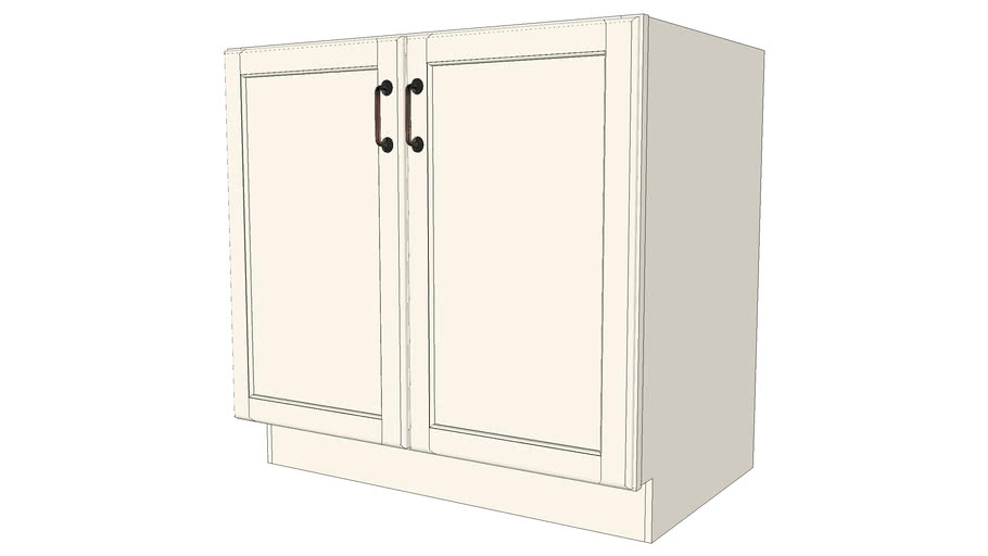 Base Cabinets - Atwater Maple Canvas by KraftMaid® Cabinetry