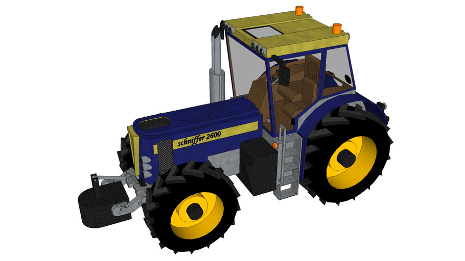tracteur schniffer 2600