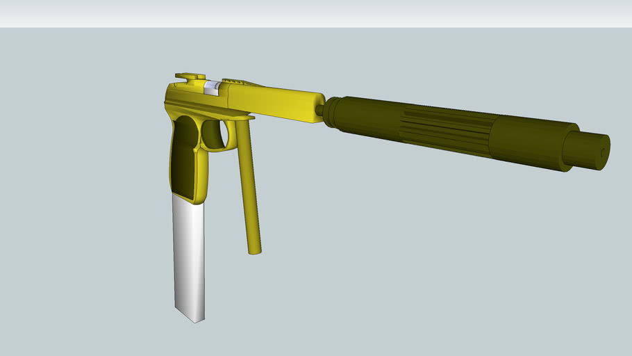 golden silence pistol