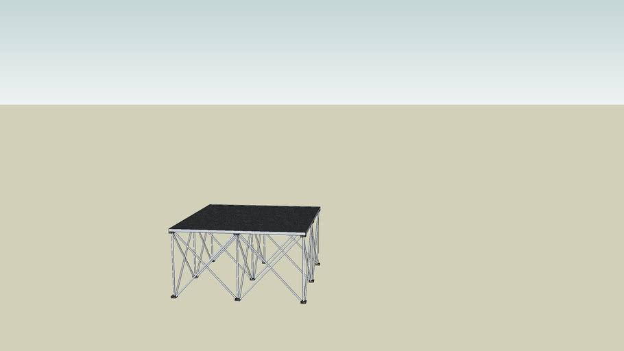 Intellistage 4'x4'x2' Riser & Platform
