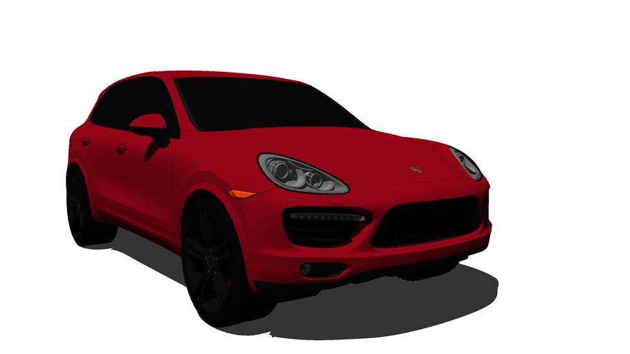 2013 Porsche Cayenne GTS (Carmine Red)