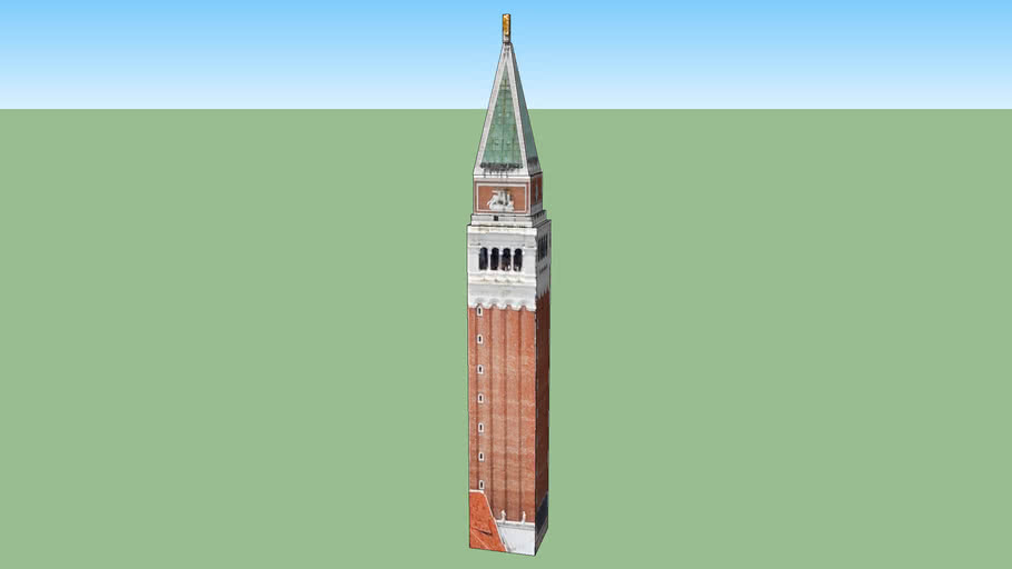Campanile di San Marco in Venezia VE, Italia