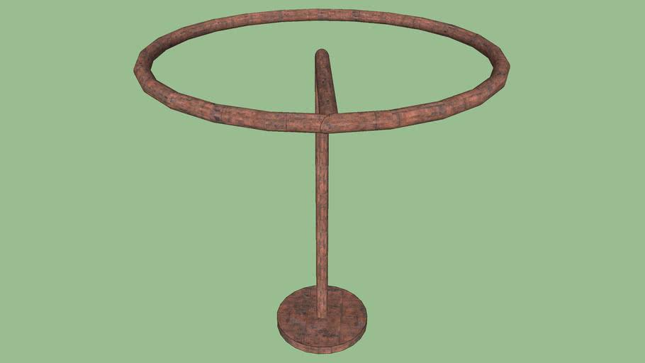 circular hang bar PT