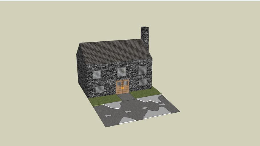 scandinavisch huisje
