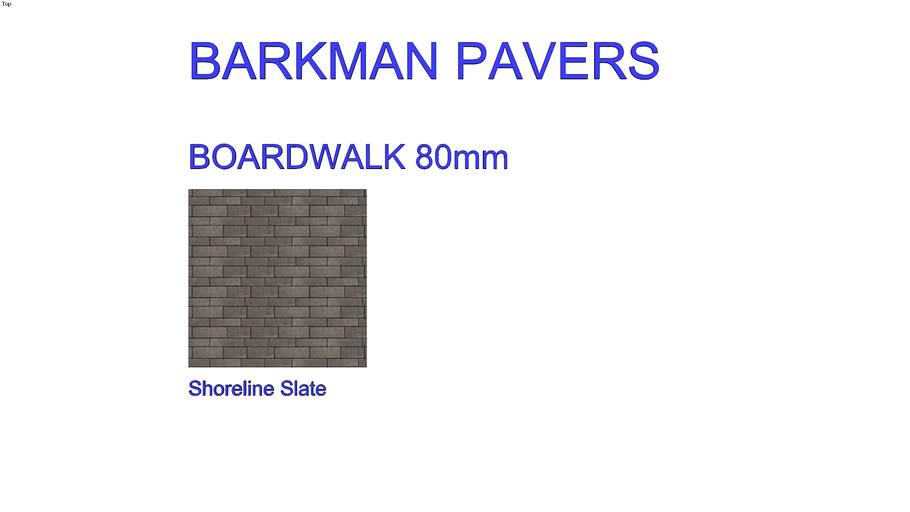 Barkman Boardwalk Pavers