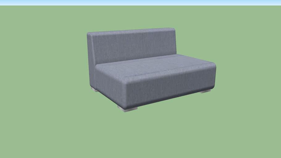 Sofá Modular 2 Lugares - Leeds - Green House