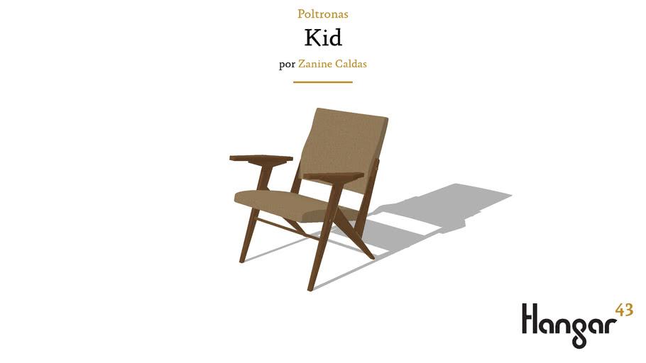 Poltrona Kid - Zanine Caldas