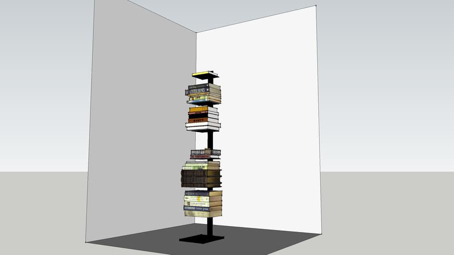 Freestanding Metal Book Stand