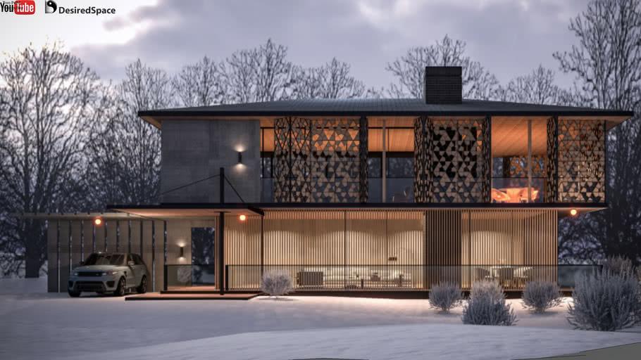 Exterior Winter Scene