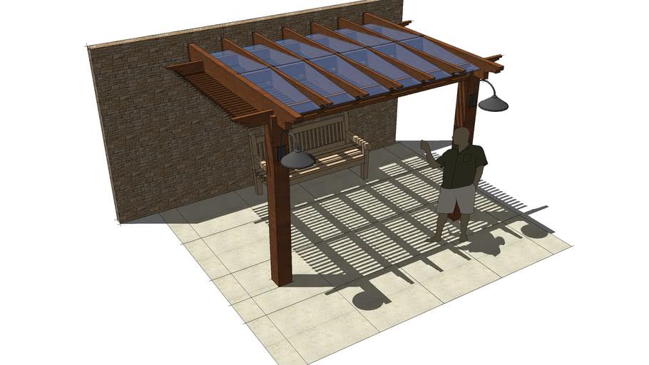 Side Porch Pergola