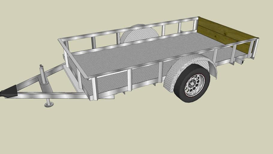 5'X10' Non-Tilt trailer
