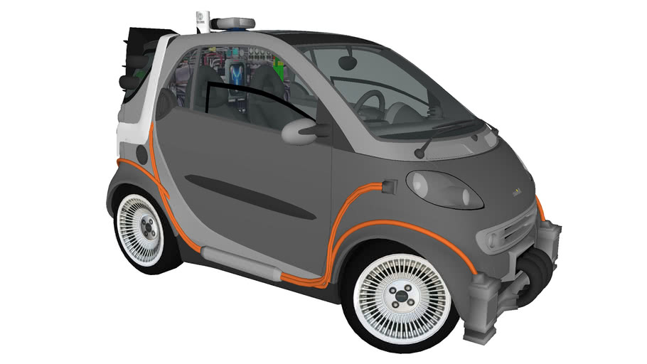 Back to the Future Smart Car