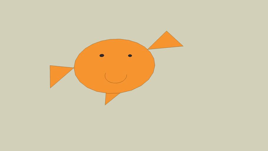 Balloon Fish (Flat)