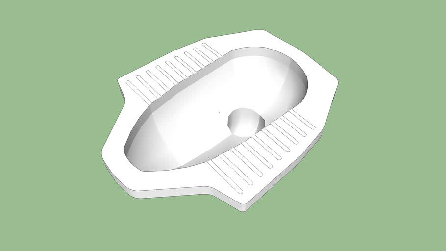 Squat Toilet 3d Warehouse