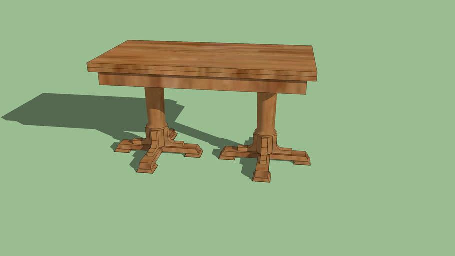 Mesa de sala de madera
