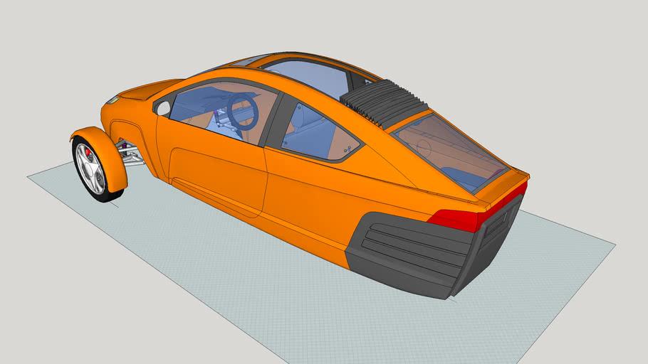 Fan Edited Elio convertible based on Elio Motors - Case 41