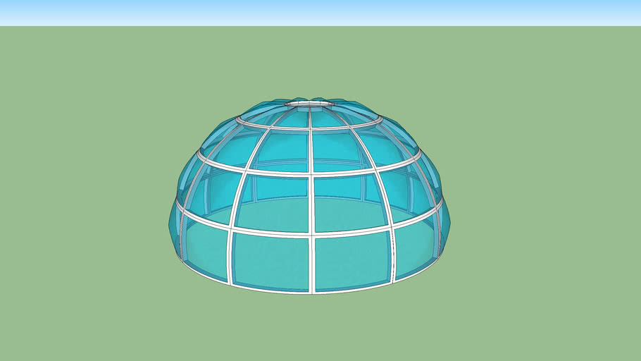 domo con cristal