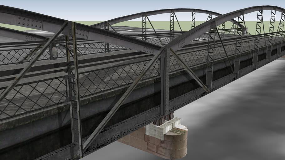 Laborec Bridge Humenne by petros