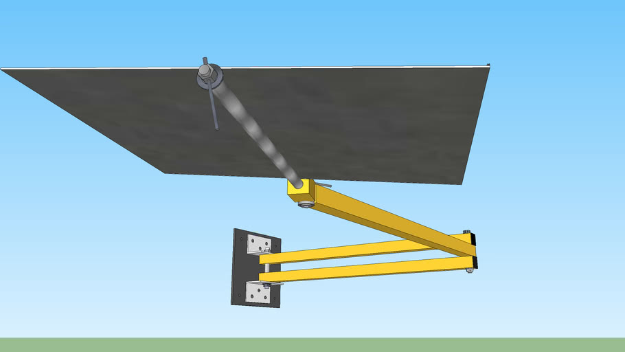 Extending Folding Work Station