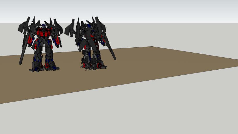 Optimas Prime movie 2 upgrade