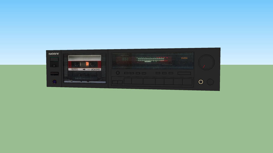 Sony  stereo cassette deck (K555ES)