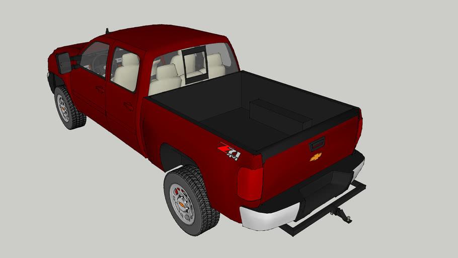2013 Chevy Sliverado 2500 Z71 4X4 Crew Cab
