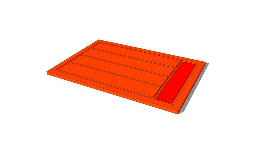 Shower tray QUARSBLAU. Mod. LINES G3