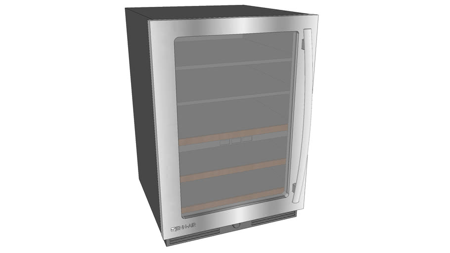 "JUB248RWRS 24"" Under Counter Beverage Center"