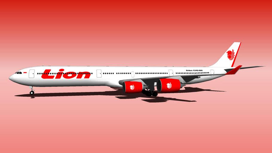 Lion Air Airbus A340-600