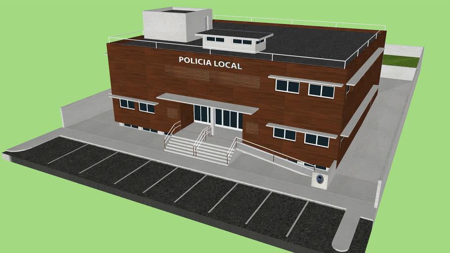 Sede de la Policia Local en Son Servera, Mallorca, España