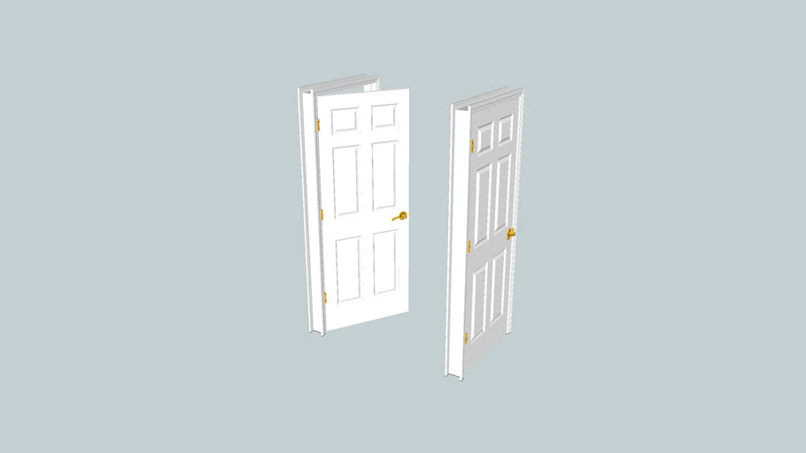 Six Panel Door - 32 inch